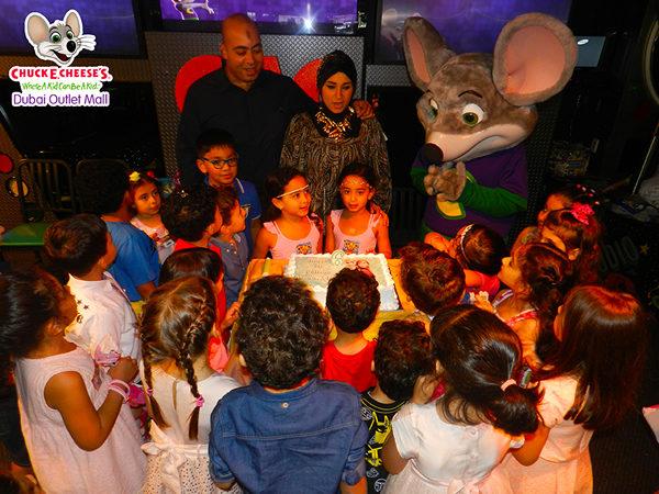 Chuck E Cheeses Dubai